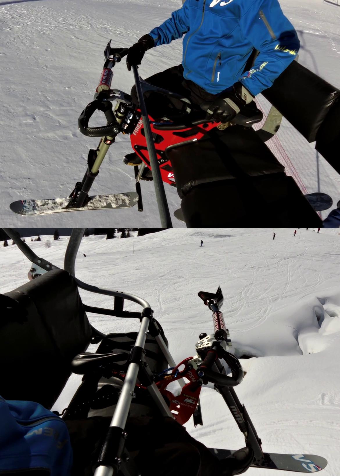 Cadre multifonction Skibike